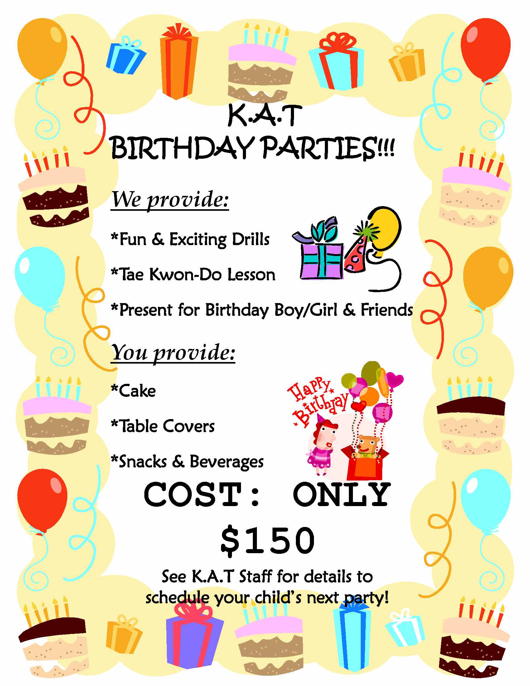 Birthday Party Flyer - Copy